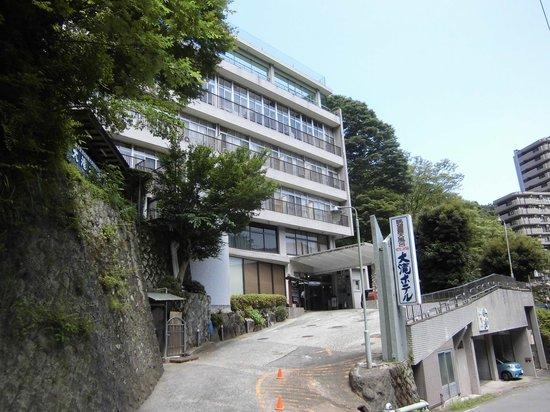 Otaki Hotel: ホテル外観