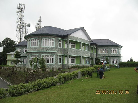 Kalimpong, Ινδία: Tourist Bungalow at Deolo Hill