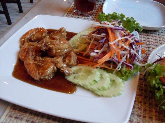 Oriental Thai Kitchen Chopstick: shrimp