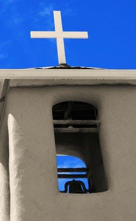 San Francisco de Assisi Mission Church: spire at San Francisco de Asis Church