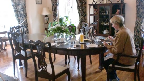 Langtry Country House: Breakfastroom
