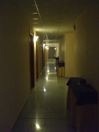 Blu Hotel : le couloir
