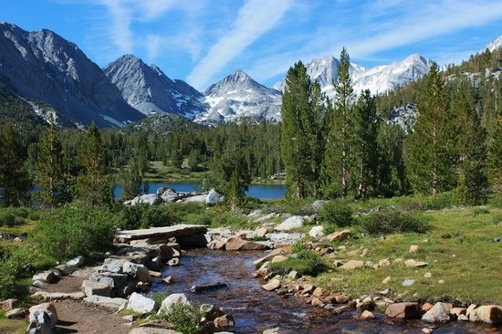 Bishop, Kalifornia: Little Lakes Valley trail