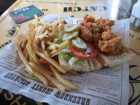 Bubba Gump Shrimp Co. : Fried Shimp Sammie