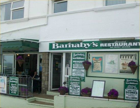 Barnabys Licensed Restaurant: Barnabys Restaurant, Sandown, Isle of Wight