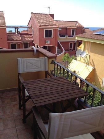Real B&B Primosole : terrazza