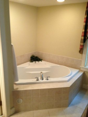 Joseph Ambler Inn: Bathtub