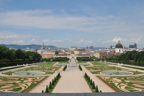Belvedere picture of vienna marriott hotel vienna for Tripadvisor vienna