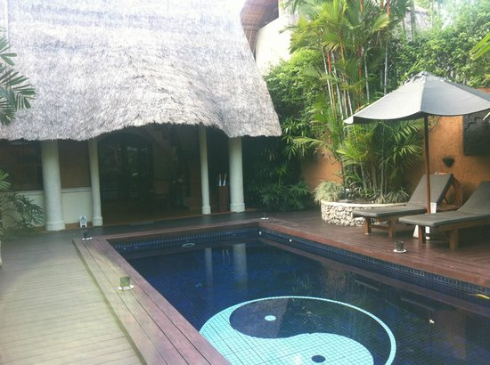 The Villas Bali Hotel & Spa : private pool