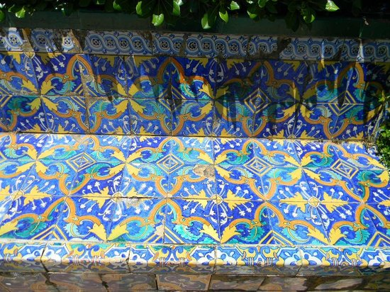 La Casa del Rey Moro: azulejo