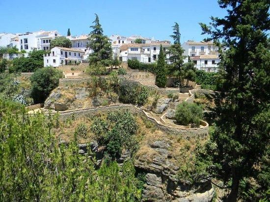 La Casa del Rey Moro: view from the garden