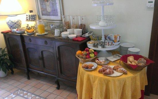 Residence Hotel Olimpia: das Frühstücksbuffett