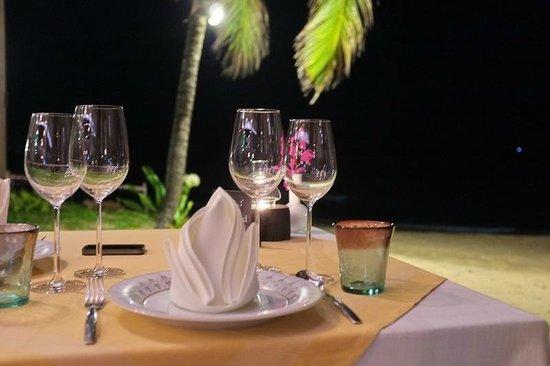 Natai Beach Resort & Spa, Phang-Nga: dinner at Natai restaurant