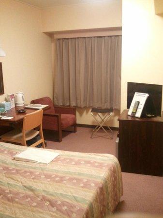 Hotel Crown Hills Yamagata : 客室