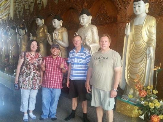 Ocean Jupiter: Visiting temples with Michael