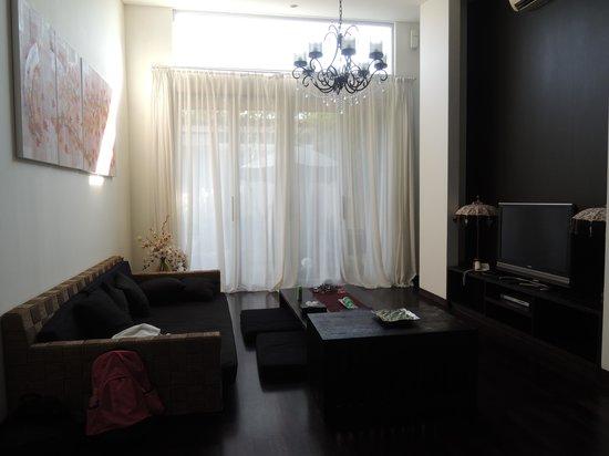 The Seiryu Villas: Living room