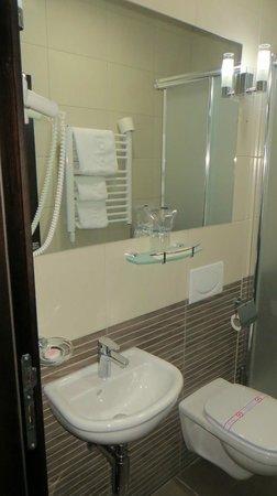 Terminus Hotel Podgorica: bathroom