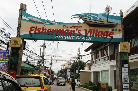 ibis Samui Bophut: fisherman's village - happening market