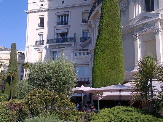 Hotel de Paris Monte-Carlo: Facade, terrace hotel