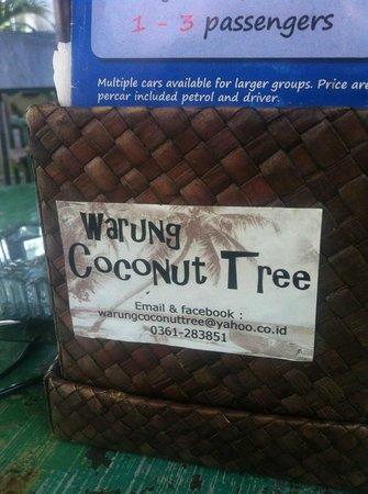 Warung Coconut Tree: Logo