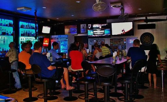The Sport Corner: Interior Bar