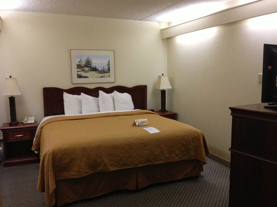 Quality Inn & Suites: King Suite