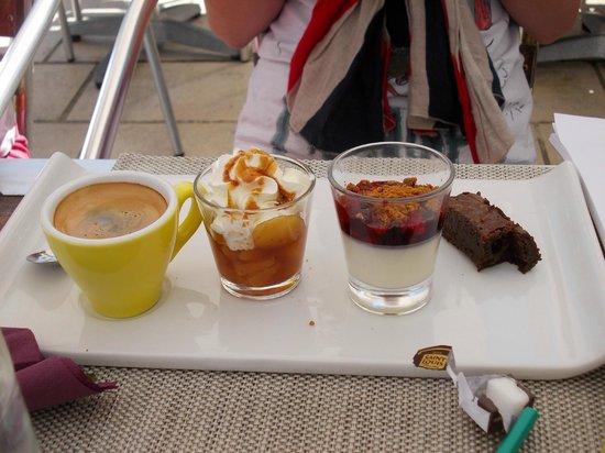 À la plancha : un exemple de café gourmand