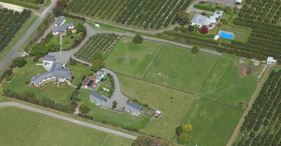 Cottages on St. Andrews & Lodge On St Georges: Aerial view of the Cottages On St Andrews