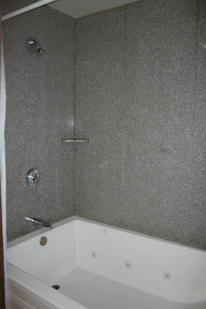 Yosemite View Lodge: Shower/Bath Tub