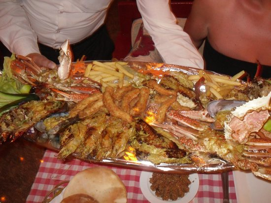 La Rose Seafood : Managers special fish platter