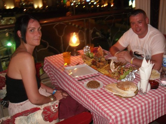 La Rose Seafood : me and our lass