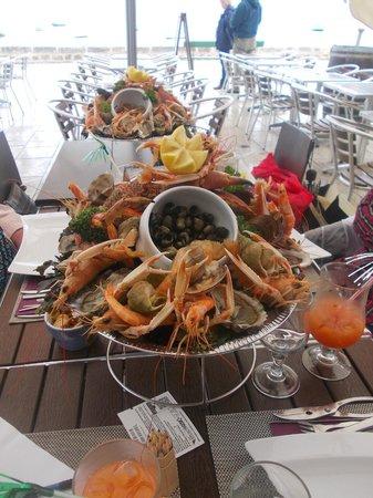 À la plancha : Commande spéciale, plateaux de fruits de mer