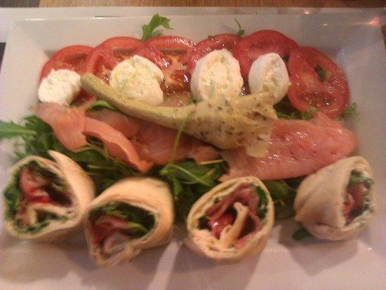 Del Arte Dunkerque : Salade fraîche et gourmande
