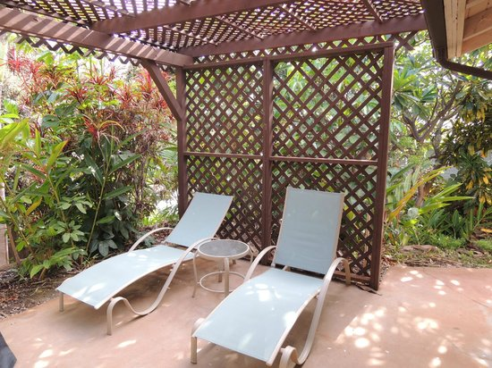 Hale Huanani Bed and Breakfast : Patio