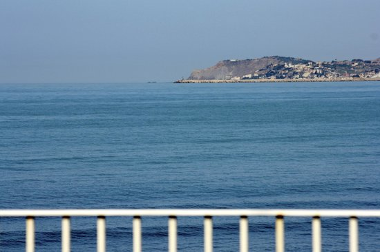 Dioscuri Bay Palace Hotel: view from terrace