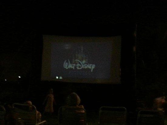 Disney's Pop Century Resort: Outdoor Cinema!