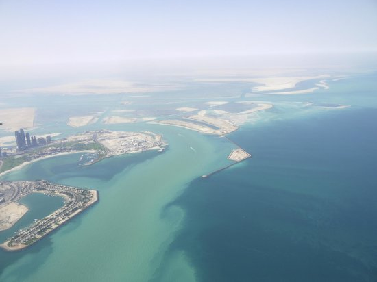 Sir Bani Yas Island, United Arab Emirates: Abu Dhabi coastline