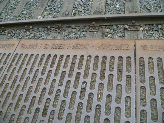 Berlin Jewish Tours: Gleis 17 - The way to Aushvitz