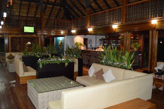 La Digue Island Lodge: reception