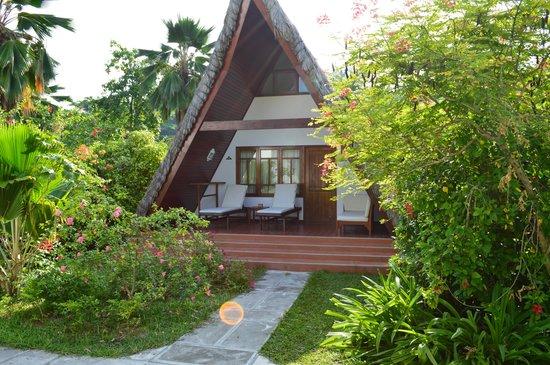 La Digue Island Lodge: our chalet