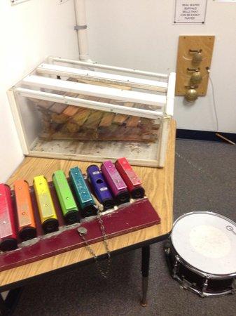 Imagine That! Children's Museum: Worn instruments