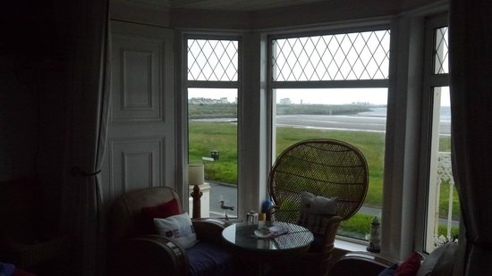 Crescent Park House Bed & Breakfast : View from Arran Room