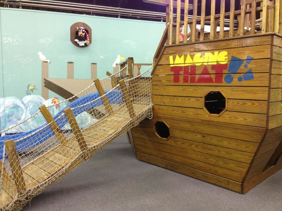 Imagine That! Children's Museum : Pirate ship