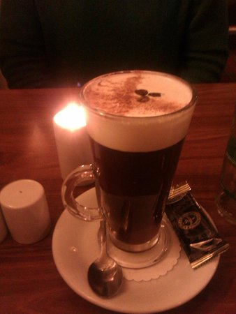 The Bear Hotel: The restaurants Irish Coffee