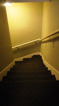York House Hotel: Steps from reception to basement (1)