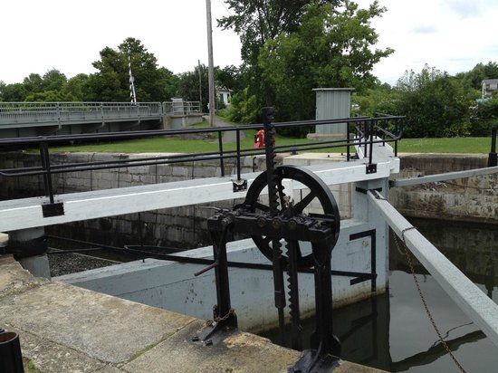 Kingston Mills : some of the lock equipment