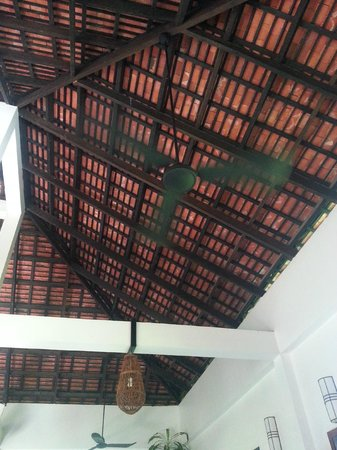 Bunwin Boutique Hotel: The roof at at dining place