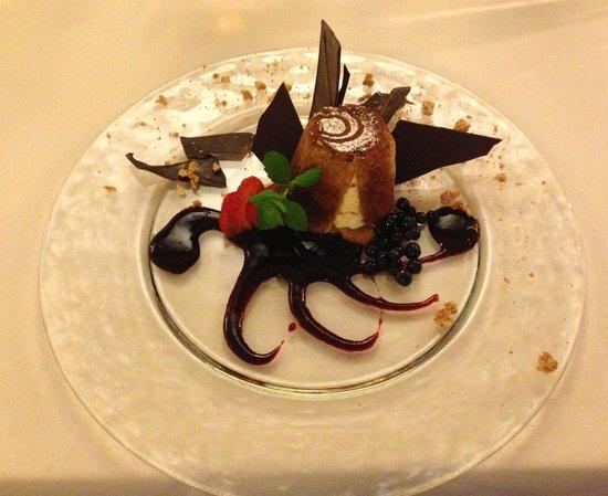 Hotel Maloia: il tiramisu rivisto
