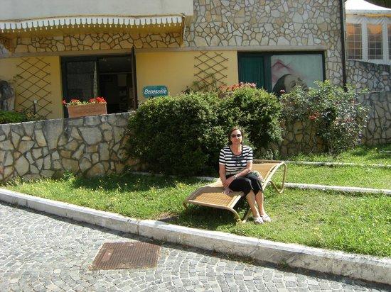 Solofra Palace Hotel & Resorts: ingresso centro benessere