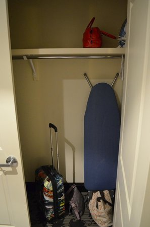 Stone Mill Inn : There is an iron and board in the closet